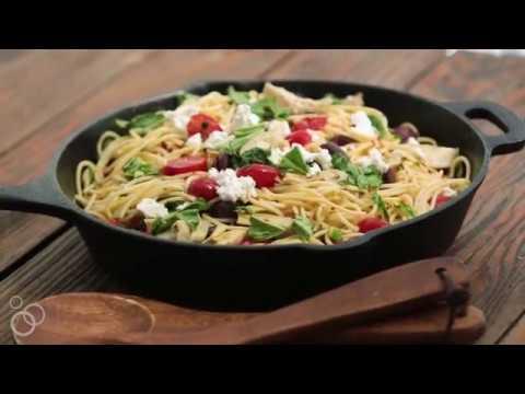 Mediterranean Olive Oil Pasta | The Mediterranean Dish