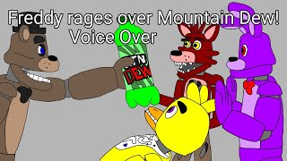 [SFM FNAF] Freddy rages over Mountain Dew Voice Over (animated by Lucifersam01)
