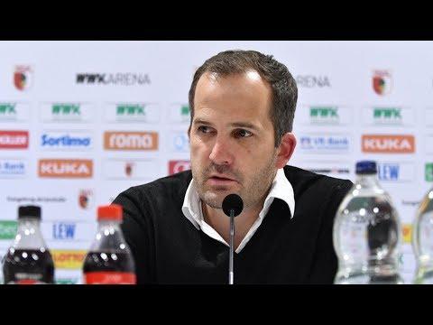 17/18 // Pressekonferenz // FCA besiegt den HSV