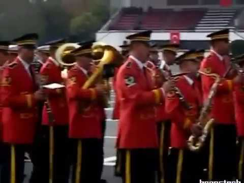 Dumlupınar Marşı-Jandarma-Hava-Deniz-TSK Armoni Mızıkası Karma Bando