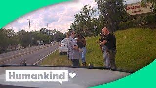 Hero deputy jumps in to help unresponsive baby