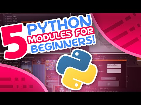 5 Python Modules For Beginners