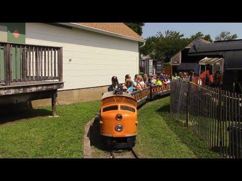 LIRR 1964-1965 World's Fair Train G16 at the Railroad Museum of Long Island in Riverhead on Railfest