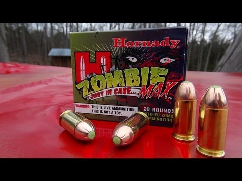 .45 ACP ZOMBIE MAX Review and Ammo Test