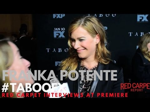Franka Potente ed at FX Network's