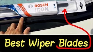 🌦 Best Wiper Blades by Bosch Icon | Wiper Blade Review Installation on a 2013 Nissan 370Z SportCoupe