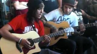 Caraphernelia(Acoustic)-Pierce the Veil (San Diego)
