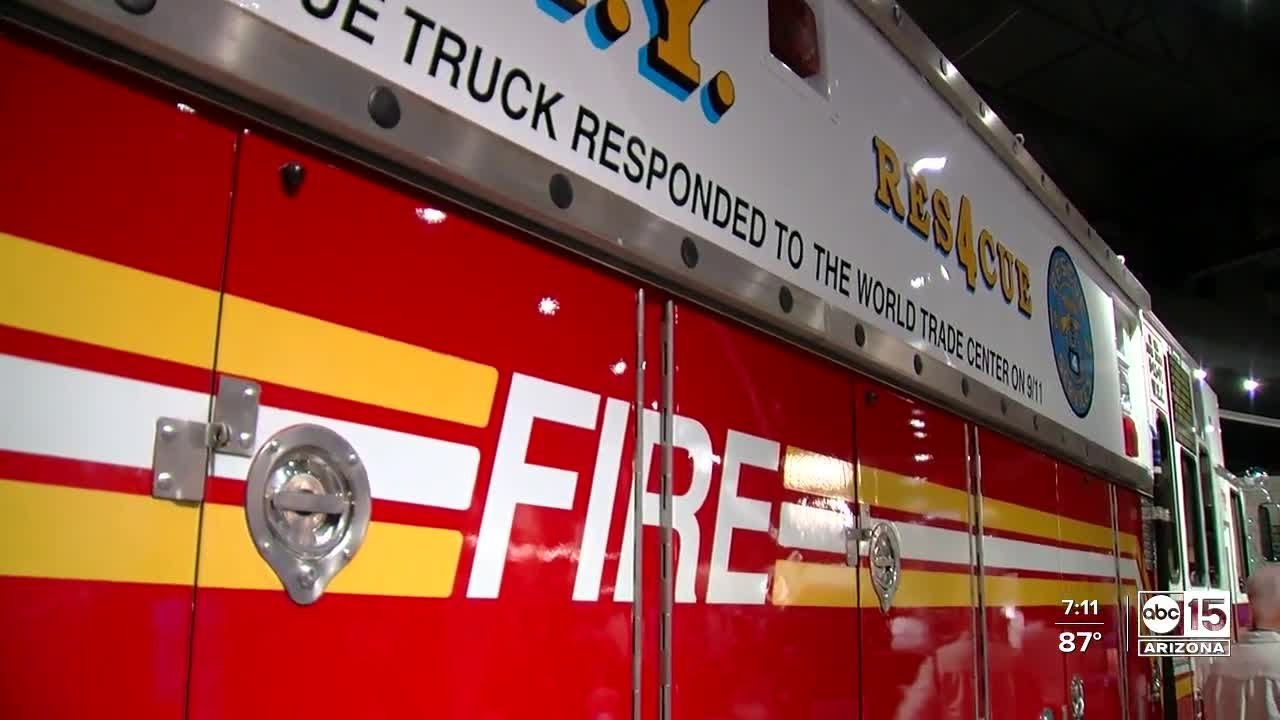9/11 history on display at Hall of Flame Museum in Phoenix
