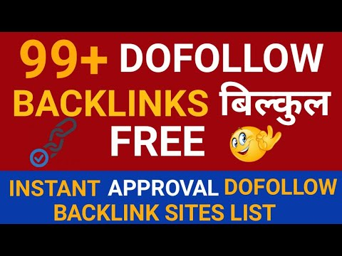Dofollow Instant Approval Blog Commenting Sites list Download