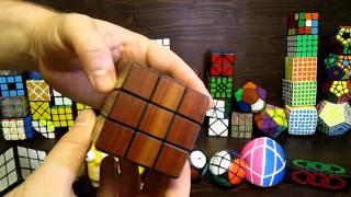 Wooden 3x3x3 Rubik's Cube