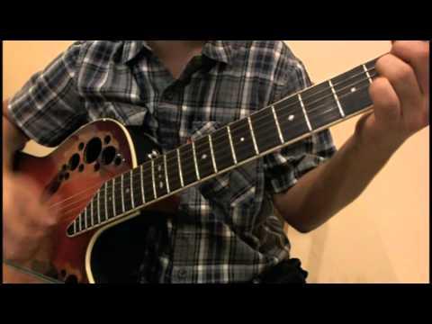 A1 - Walking in the rain guitar - YouTube