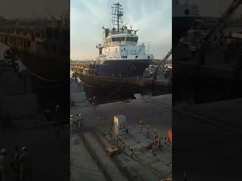 Docking dammam port 2017