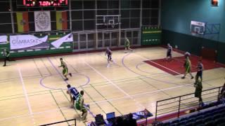 ALK Wro-Basket, 29. edycja. Paweł Moras (MuchoBronx Sumel.pl) blok