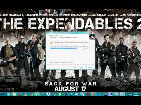How To Install Expendables 2 Game-SKIDROW