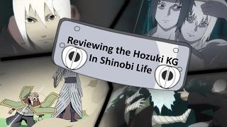 Revisione/Spettacolo della Hozuki KG in Shinobi Life OA - First Looks (Roblox)