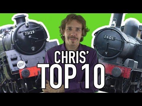 STEAM LOCOS IN PROFILE: Chris' TOP 10 Standard Gauge British Steam Locomotives