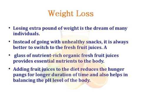 Incredible Health Benefits of Organic Fruit Juices