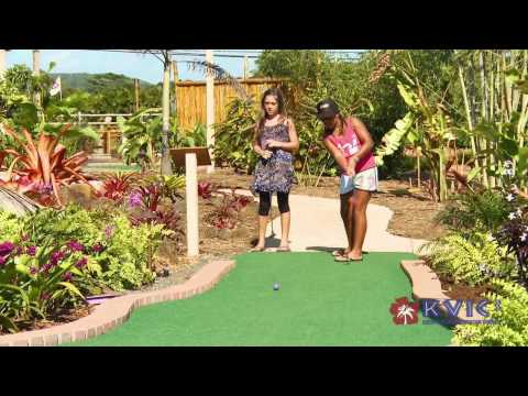 Kauai Mini-Golf In Kilauea - KVIC-TV, MyKauai.com [Activity] [Golf]