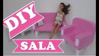 #DIY: SALA DE BONECA com ISOPOR