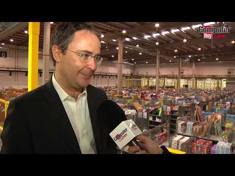 Visita al centro logistico de Amazon España