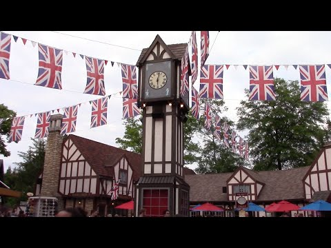 Busch Gardens Williamsburg 2016 Full Walkthrough