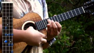 Uke Lesson 38 - Hawaii Five-0 Theme Song (Instrumental)