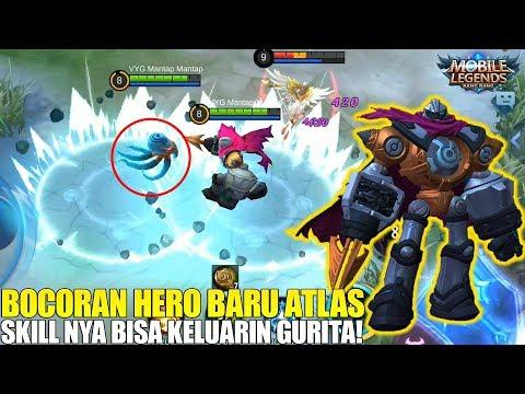 NEW HERO ATLAS - HERO FIGHTER/TANK SUPER NGERI! SKILL NYA BISA NGELUARIN GURITA DAN BANTING MUSUH!