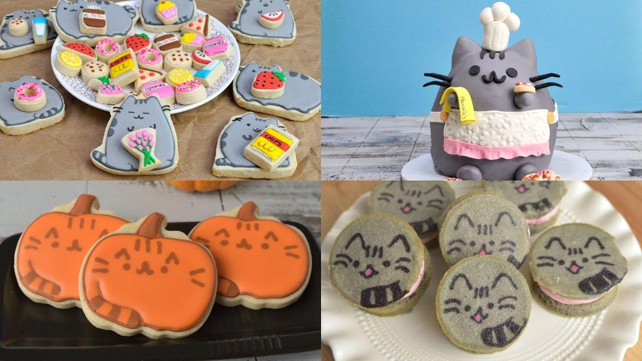 How To Make Pusheen Cat Cookies