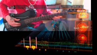 "Rocksmith 2014 ""Beneath, Between & Behind - Rush"" CDLC Score Attack 99,81% (Bass)"
