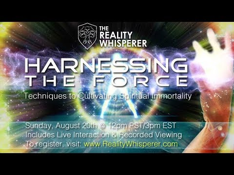 Harnessing the Force Webinar FREE TO VIEW