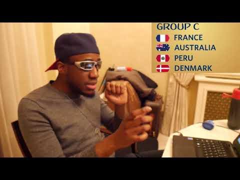 World cup 2018 group c analysis |  france, australia, peru, denmark