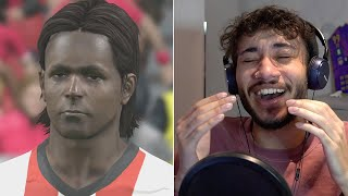 Reacting to Some of the Worst Faces in the History of FIFA and PES with FNG and WOLFE3Y