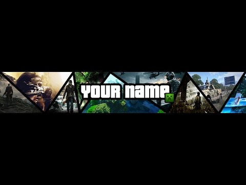 Youtube Gaming Banner Template | Gaming Banner Template 20 Gaming Banner Template Free Psd Images
