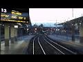 Cab Ride Milano Garibaldi - Legnano sul Treno del Mare (Real Audio)   Parte 1 da MI Garibaldi a Rho