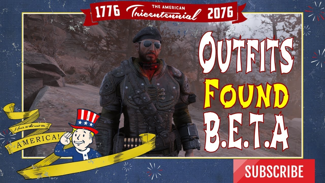 All [Fallout 76] Outfits that I found during the BETA  Let's Check em out!