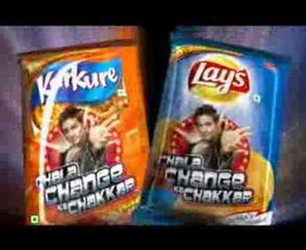MS Dhoni - FritoLay Chala Change ka Chakkar