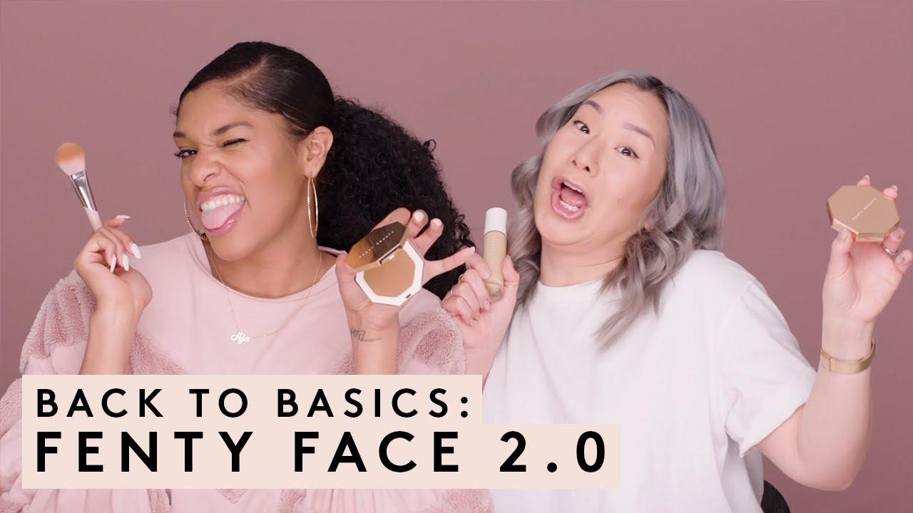 56816df42d3 BACK TO BASICS: FENTY FACE 2.0 - YouTube