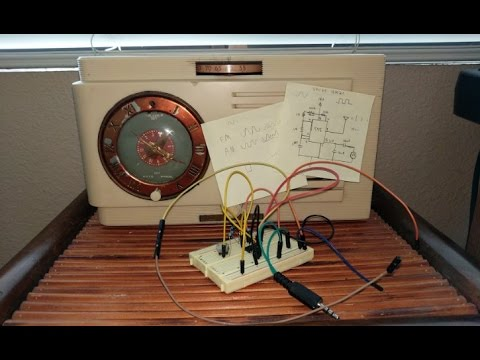 How to Build an Easy  AM Transmitter
