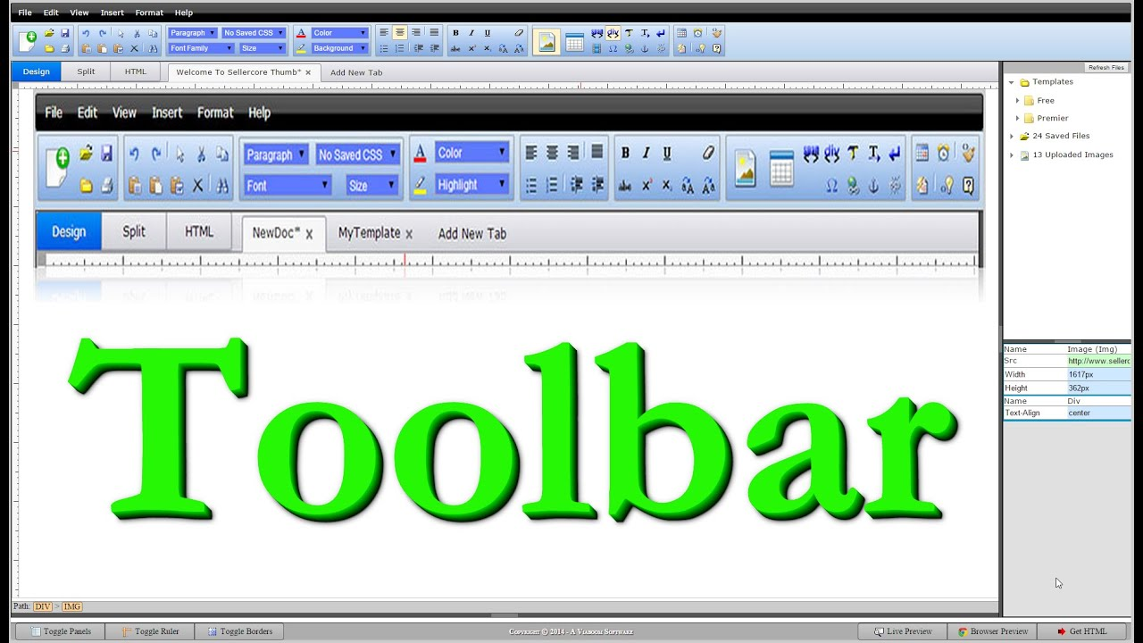 How To Easily Create Free eBay Templates Using The Sellercore ...