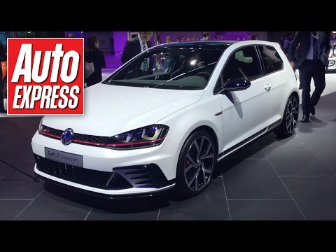 Volkswagen Golf GTI Clubsport at the Frankfurt Motor Show