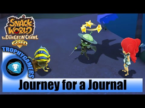 Snack World The Dungeon Crawl Gold – Journey For A Journal - Story Quest Walkthrough