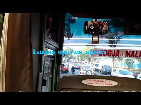 Trip Malang Pwkt nonstop with bus Gunung Harta