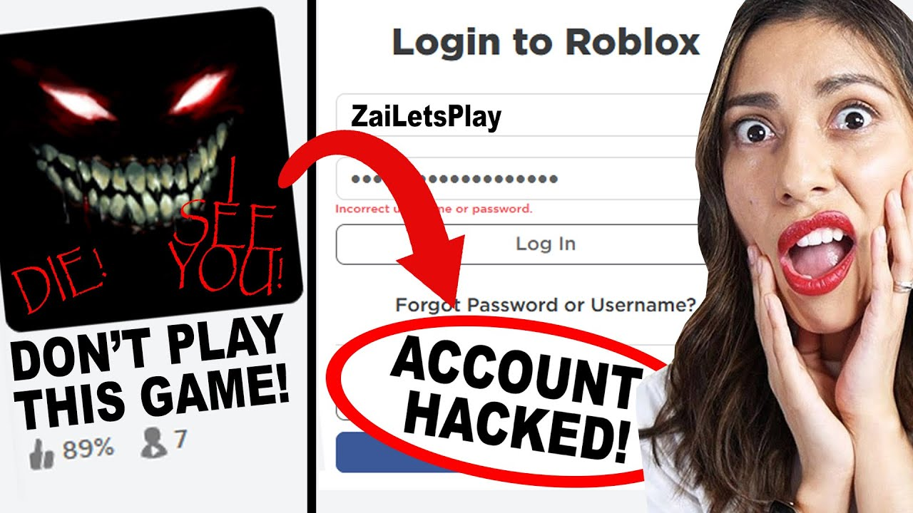 DON'T PLAY THIS ROBLOX GAME! *I GOT HACKED* (Roblox)