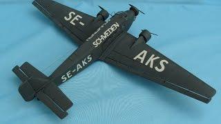 HELLER 1/72 Junkers Ju-52/3m