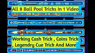 8 Ball Pool All Working Tricks - Cash and Coins Trick - 2018