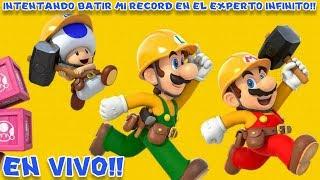 🔴 Intentando Batir mi Record en el EXPERTO INFINITO de Super Mario Maker 2 ¡EN VIVO!