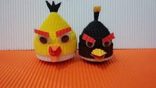 Download Video DIY angry bird from corrugated paper / kokoru paper MP3 3GP MP4