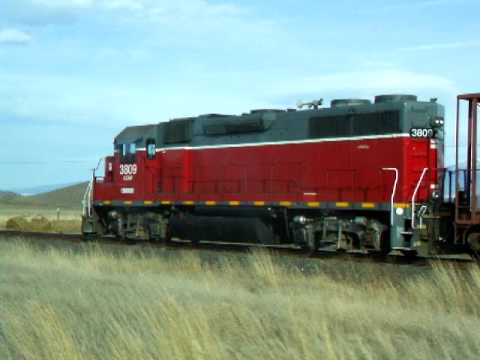 Central Oregon and Pacific Train Chase