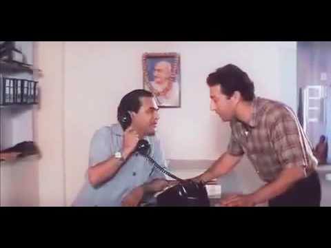 Sunny Deol Full gaali mix Ghatak movie scene Hindi dubbed