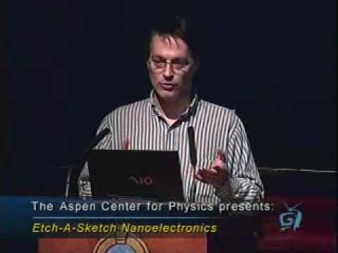 Etch-a-Sketch Nanoelectronics